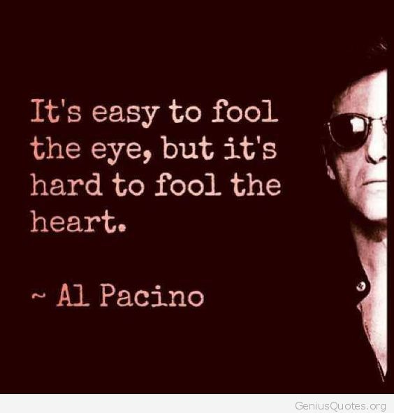 Its Hard To Fool The Heart