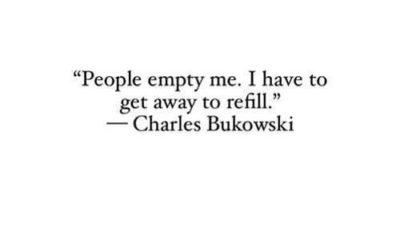 People Empty Me