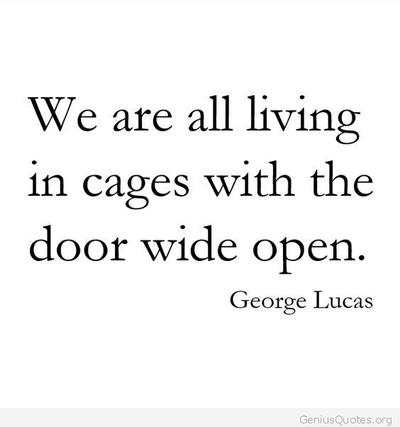 Living In Cages