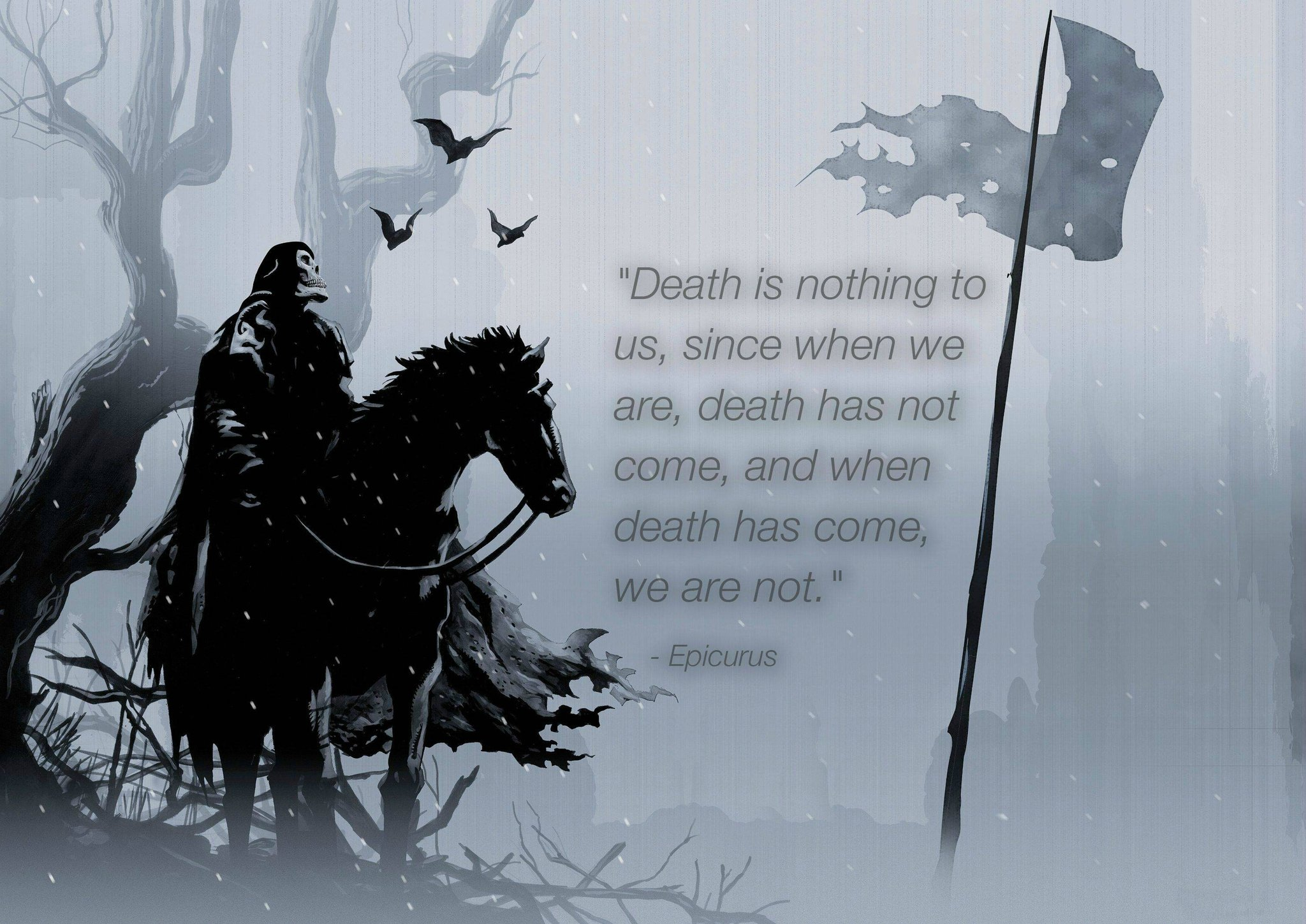 Death Is Nothing To Us Epicurus Daily Quotes Sayings Pictures