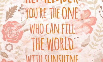 Fill The World With Sunshine