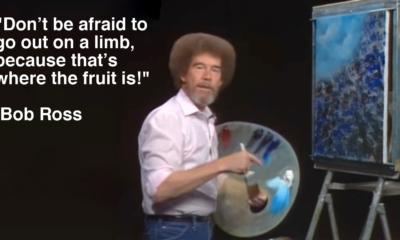 Go Out On A Limb Bob Ross Daily Quotes Sayings Pictures