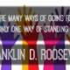Going Forward Franklin D Roosevelt Daily Quote Sayings Pictures