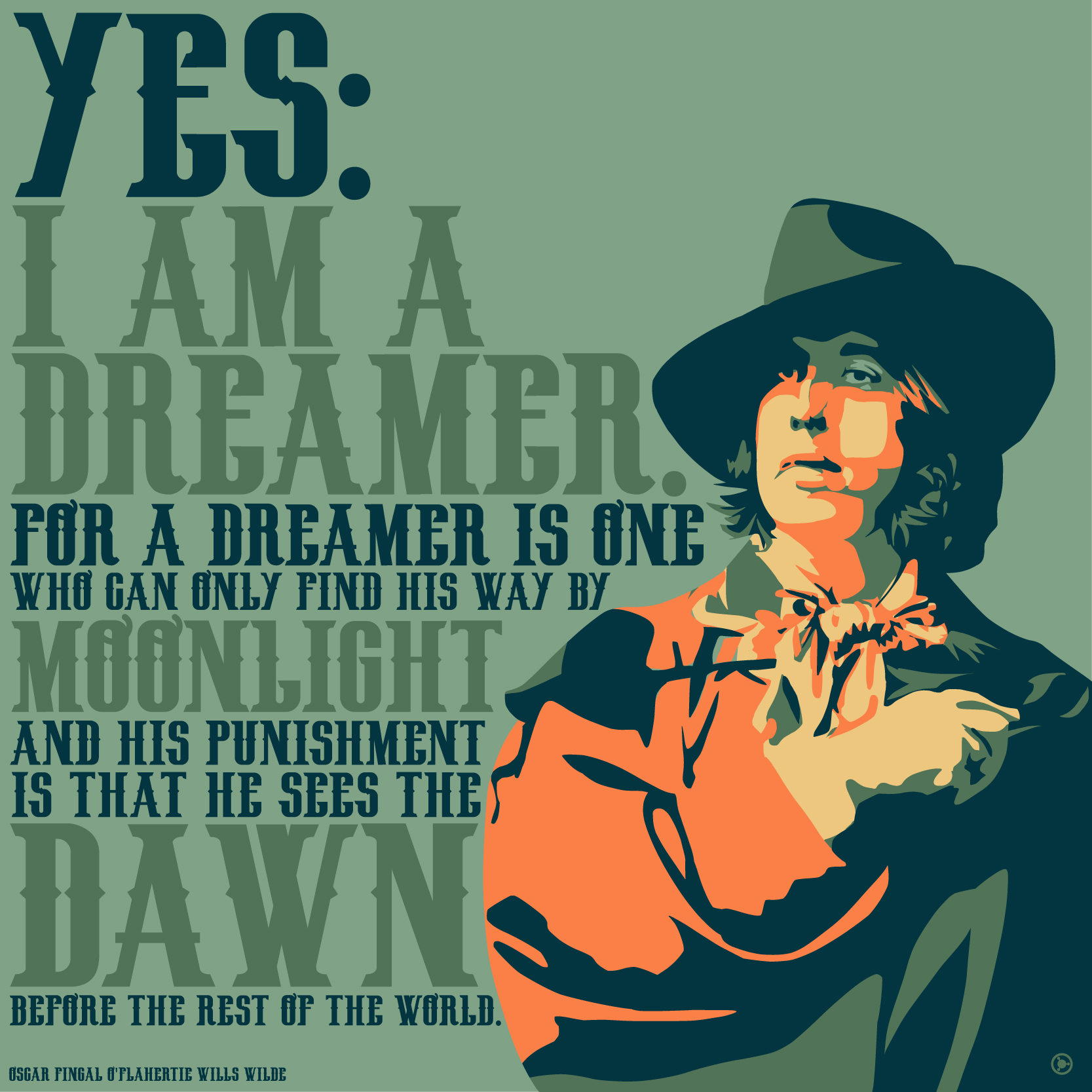 I Am A Dreamer Oscar Wilde Daily Quotes Sayings Pictures