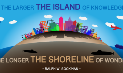 Island Of Knowledge Ralph Sockman Daily Quote Sayings Pictures