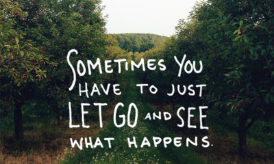 Let Go See What Happens Life Daily Quotes Sayings Pictures