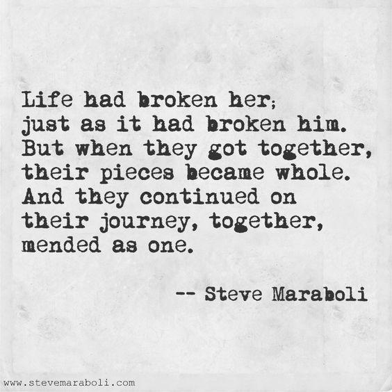 Life Had Broken Her