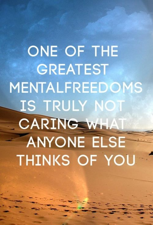 Mental Freedoms