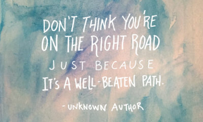 On The Right Road Life Daily Quotes Sayings Pictures