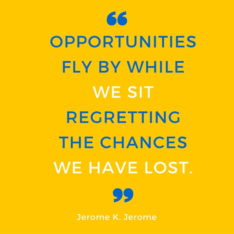 Opportunities Fly By