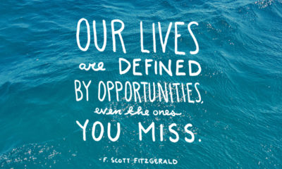 Opportunities You Miss F Scott Fitzgerald Daily Quotes Sayings Pictures