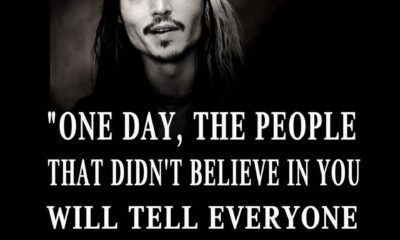 People Didnt Believe In You Johnny Depp Daily Quotes Sayings Pictures