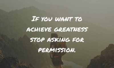 Stop Asking For Permission Motivational Daily Quotes Sayings Pictures