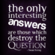 The Only Interesting Answers Susan Sontag Daily Quotes Sayings Pictures