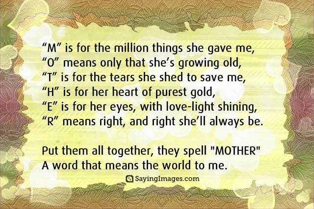 Happy Mother\'s Day Quotes, Messages, Sayings & Cards - Word ...