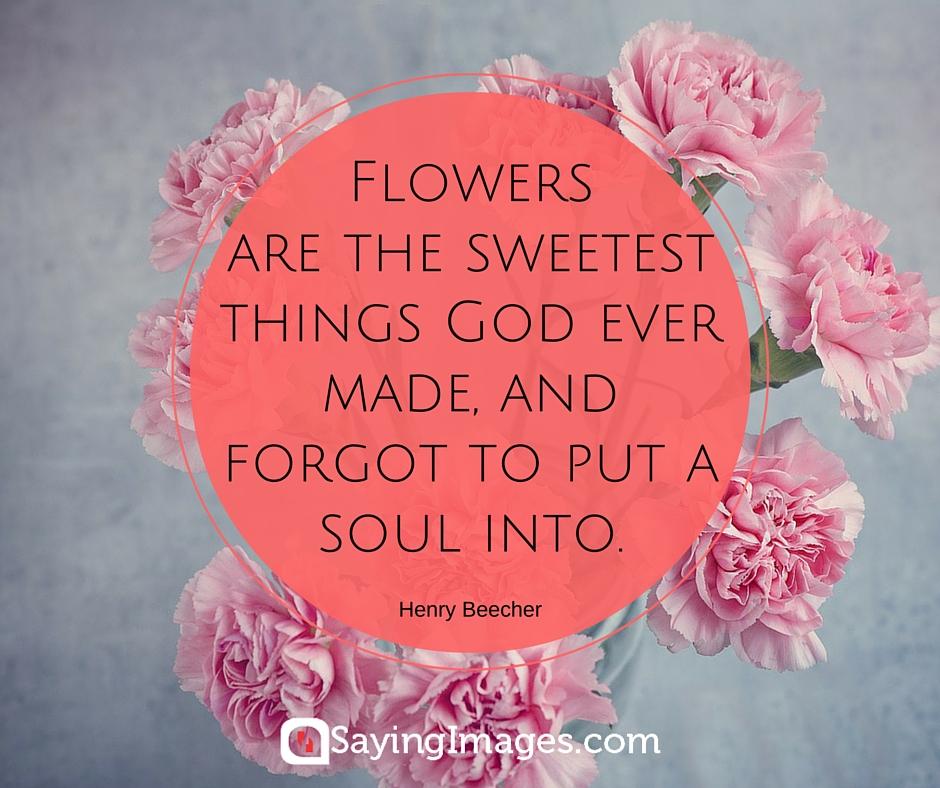 flower sayings