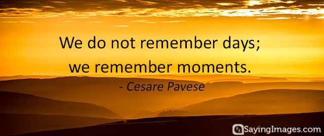 memory quotes sayings