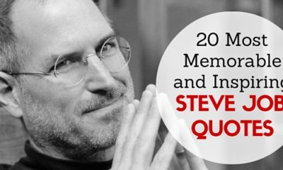 20 Most Memorable And Inspiring Steve Jobs Quotes