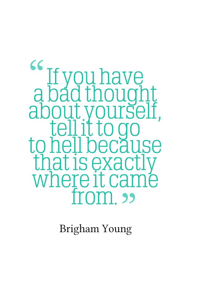 A Bad Thought