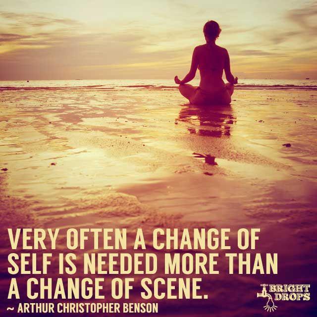 A Change Of Self