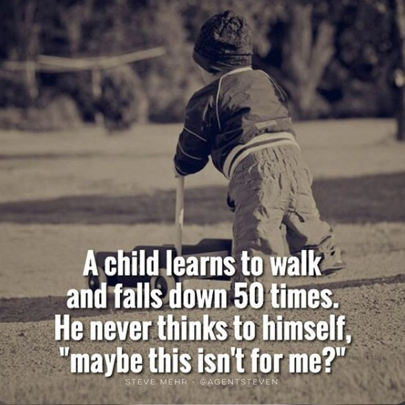 A Child Learns To Walk