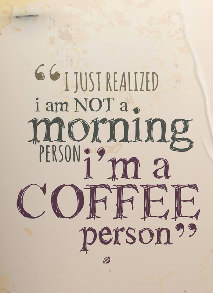 A Coffee Person