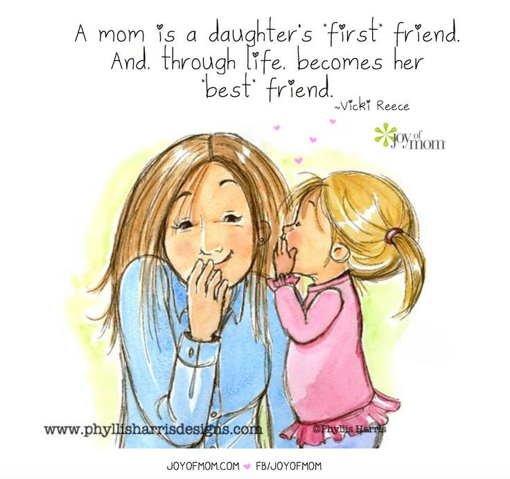 A Daughters First Friend