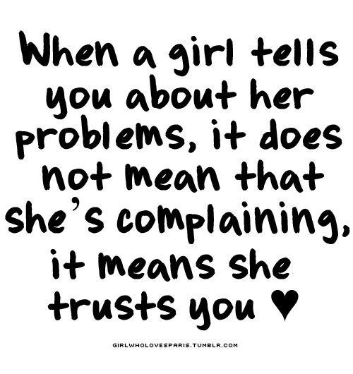 A Girls Problems