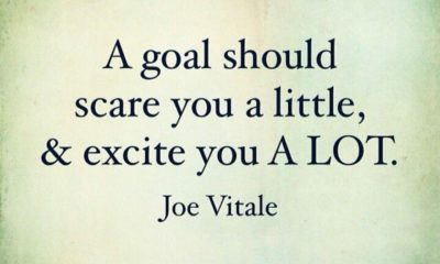 A Goal Should Scare You