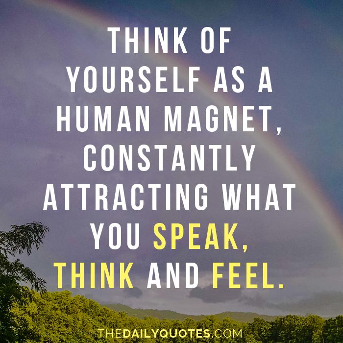 A Human Magnet