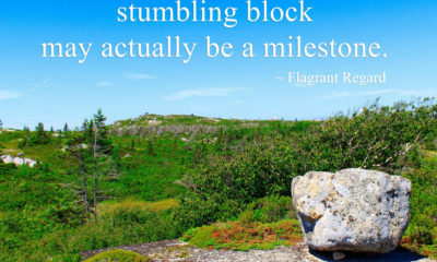A Stumbling Block Life Daily Quotes Sayings Pictures