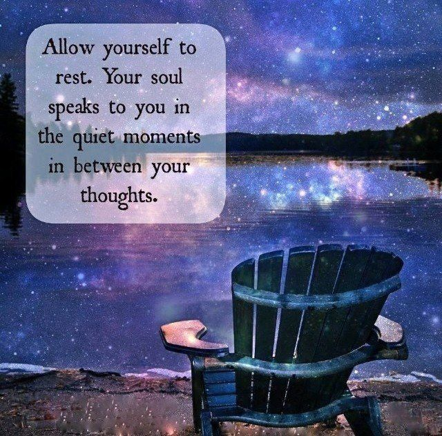 Allow Yourself To Rest