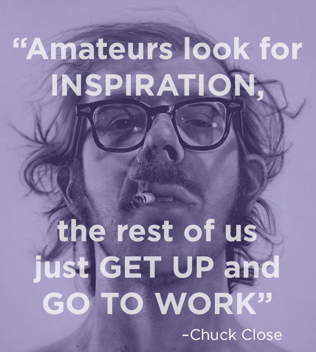 Amateurs Look For Inspiration