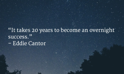 An Overnight Success Eddie Cantor Daily Quotes Sayings Pictures