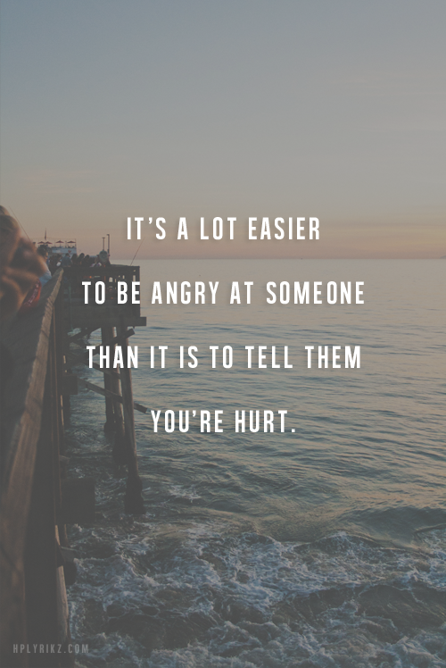 Angry At Someone