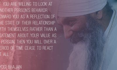 Another Persons Behavior Yogi Bhajan Daily Quotes Sayings Pictures
