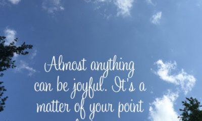 Anything Can Be Joyful
