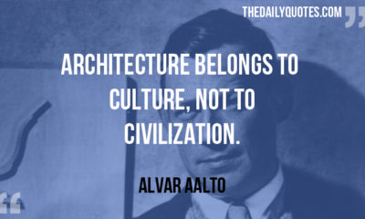 Architecture Belongs To Culture