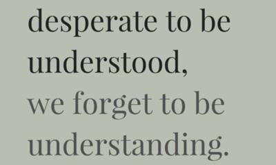 Be Understood