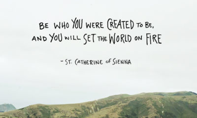 Be Who Created To Be St Catherine Of Sienna Daily Quotes Sayings Pictures