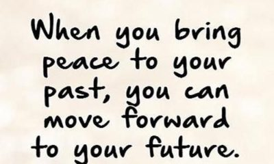 Bring Peace To Your Past