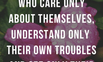 Care Only About Themselves