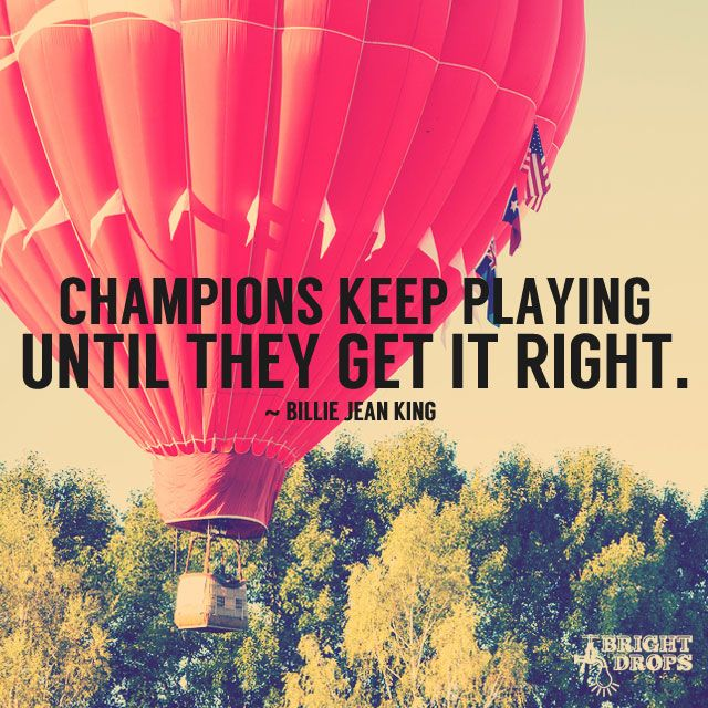 Champions Keep Playing