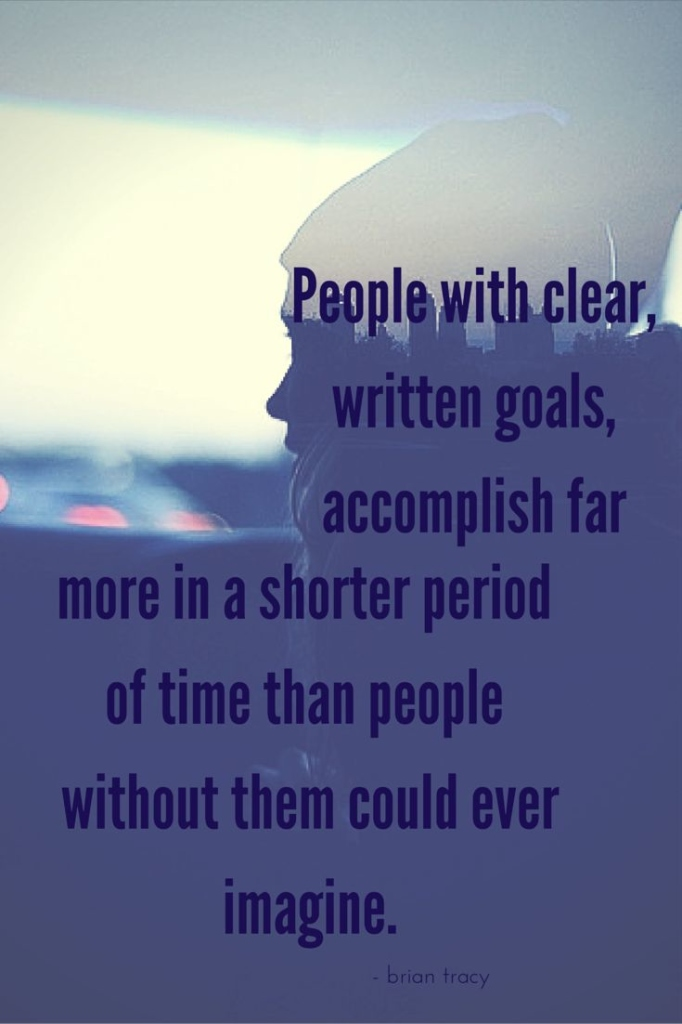 Clear Written Goals