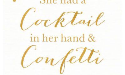 Cocktails Confetti