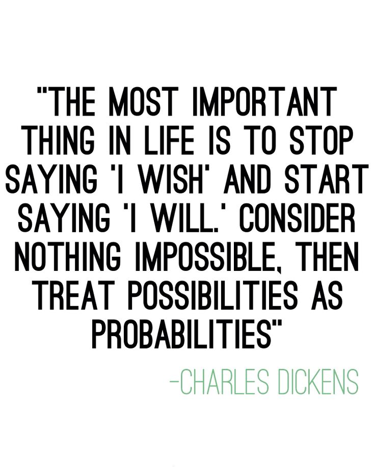 Consider Nothing Impossible