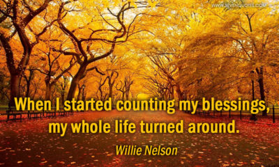 Counting My Blessings Willie Nelson Daily Quotes Sayings Pictures