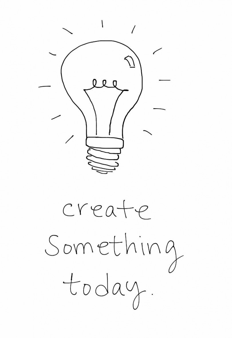 Create something today.