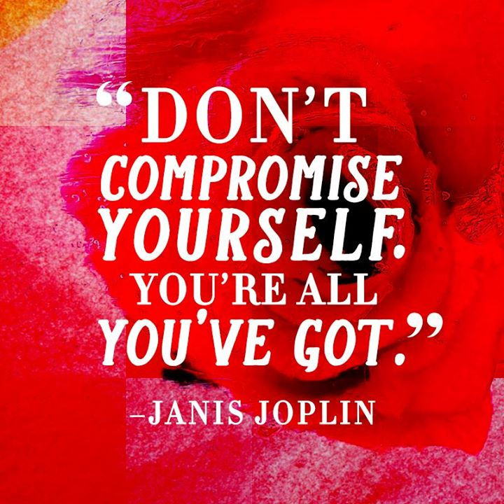 Dont Compromise Yourself
