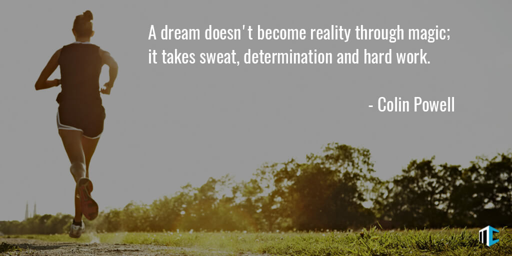 Dream Become Reality Colin Powell Daily Quotes Sayings Pictures